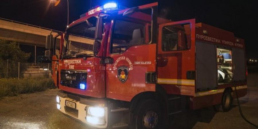 Υπνοδωμάτιο σε κατοικία στη Λάρνακα καταστράφηκε ολοσχερώς από πυρκαγιά