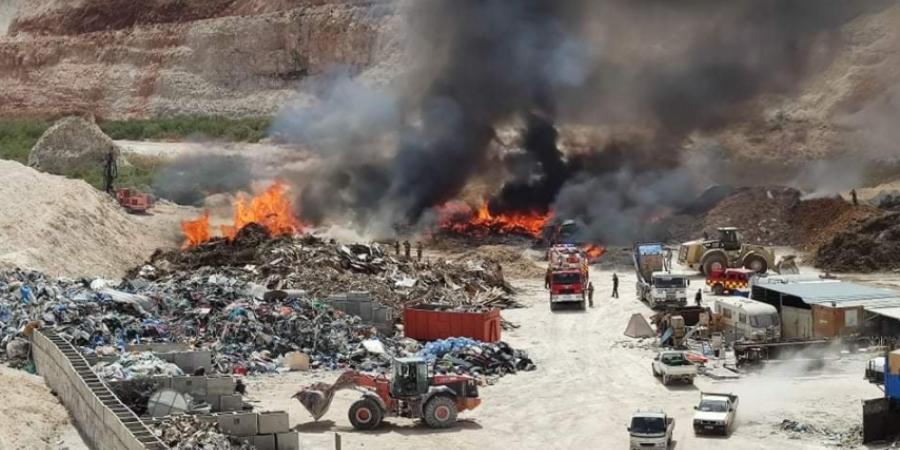 Πυρκαγιά κοντά σε λατομείο στο Ξυλοφάγου – Δείτε φωτογραφίες