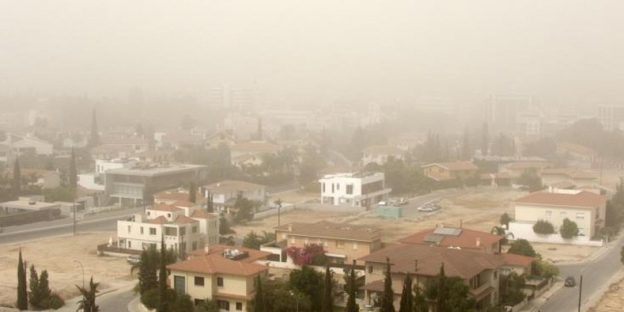 Θερμή αέρια μάζα και σκόνη για σήμερα-Η πρόγνωση για το Σαββατοκύριακο