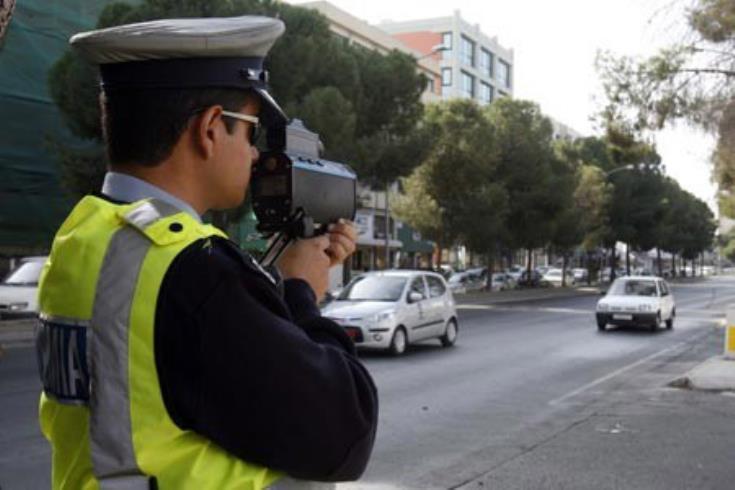 Σε 615 καταγγελίες για παραβίαση του ορίου ταχύτητας προέβη την Τετάρτη η Αστυνομία