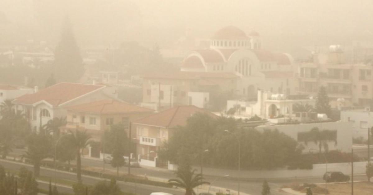 Σκόνη και άνοδος της θερμοκρασίας στο μενού του καιρού