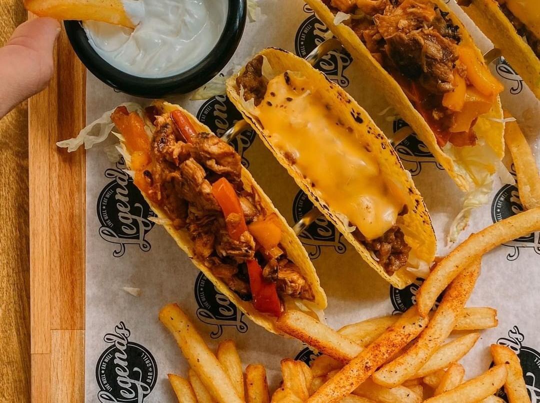 Πάμε για tacos και burger στη νέα άφιξη της πόλης
