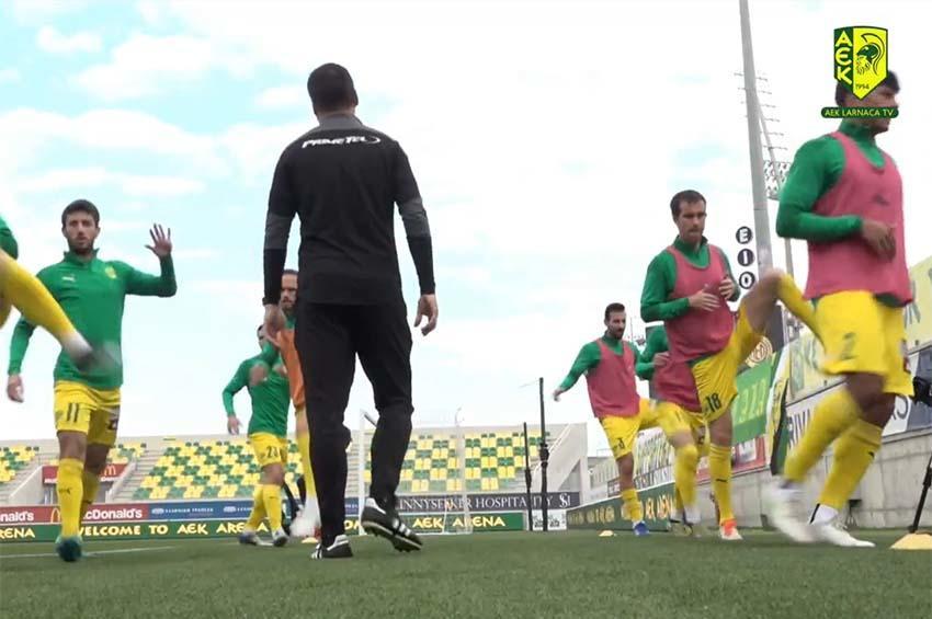 Παρακάμερα από τον αγώνα ΑΕΚ-ΑΕΛ (βίντεο)