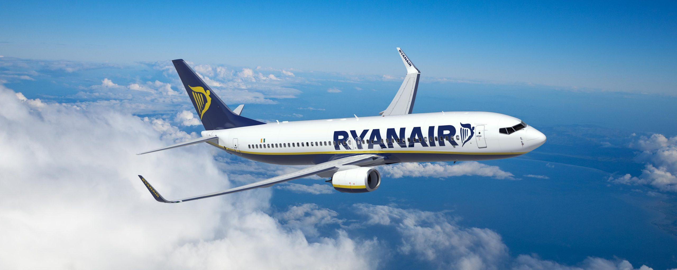 Το καλοκαίρι πετάμε απευθείας με την Ryanair, σε 34 προορισμούς