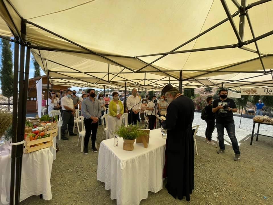 Εγκαινιάστηκε η Τοπική Αγορά Παραγωγών Λάρνακας στον Άγιο Θεόδωρο
