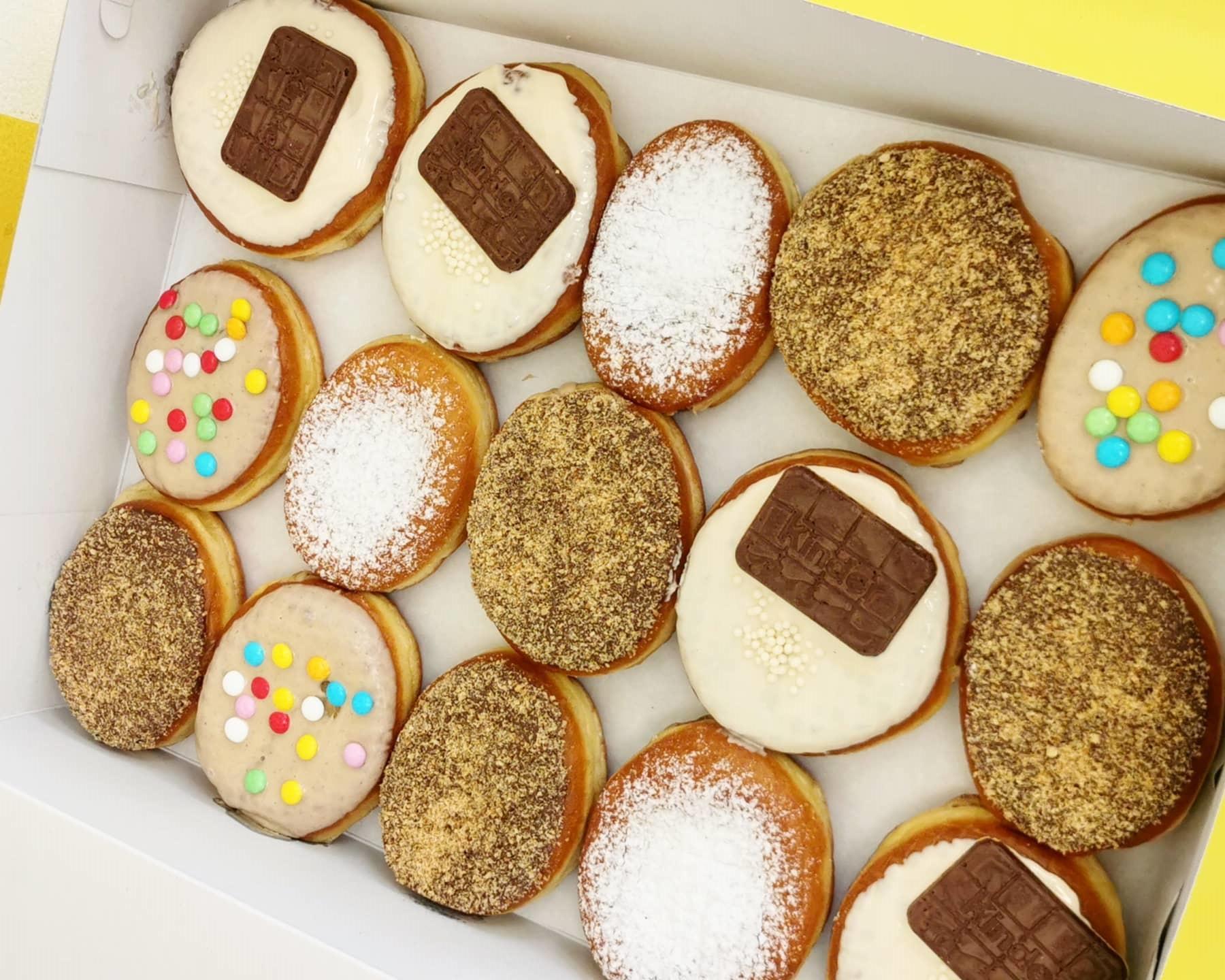 Ένα μαγαζι στη Λάρνακα φτιάχνει donuts για όλα τα γούστα