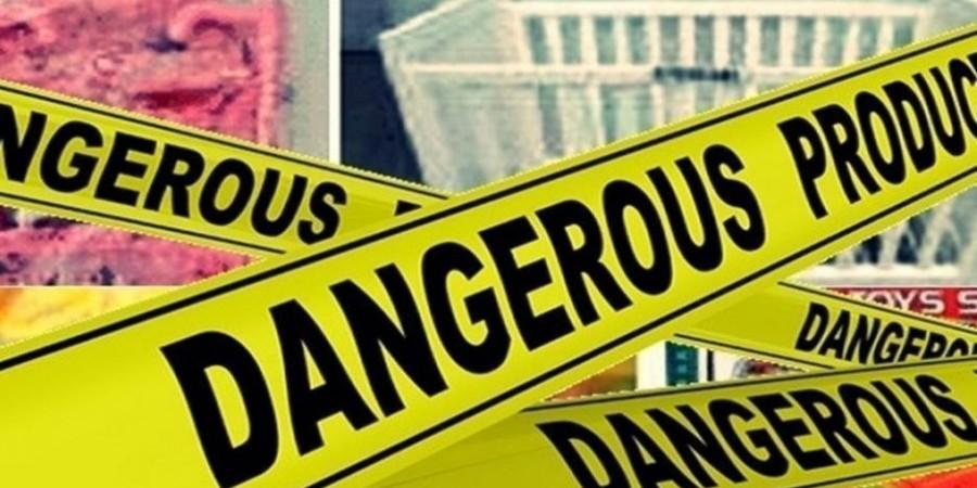 Εντοπίστηκαν επικίνδυνα προϊόντα στην Ευρωπαϊκή αγορά