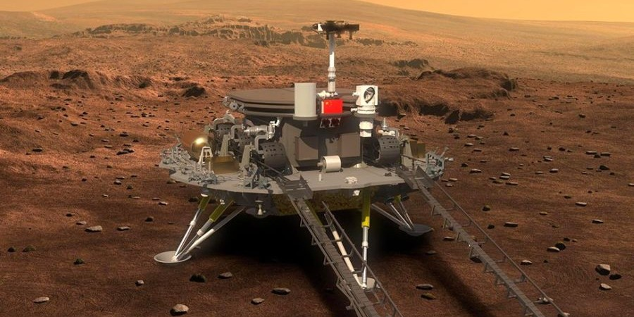 «Νιχάου Άρη»: Η Κίνα προσεδάφισε ρομπότ στον κόκκινο πλανήτη