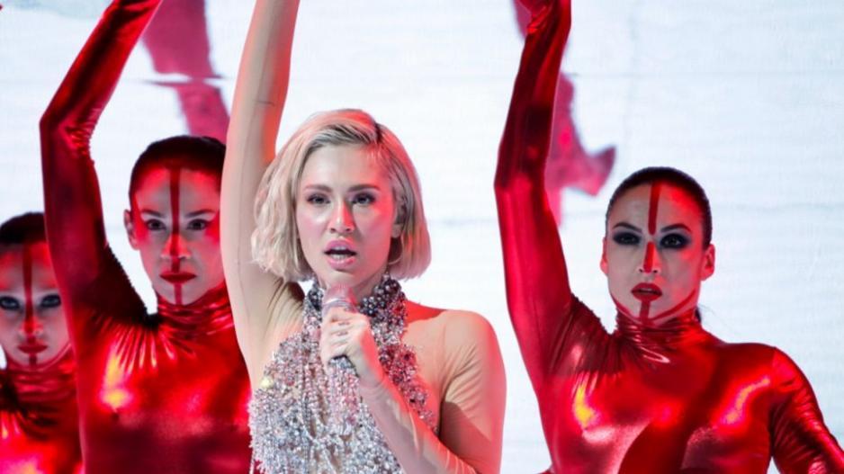 Eurovision 2021: Εντυπωσιακή η Έλενα Τσαγκρινού στη δεύτερη πρόβα