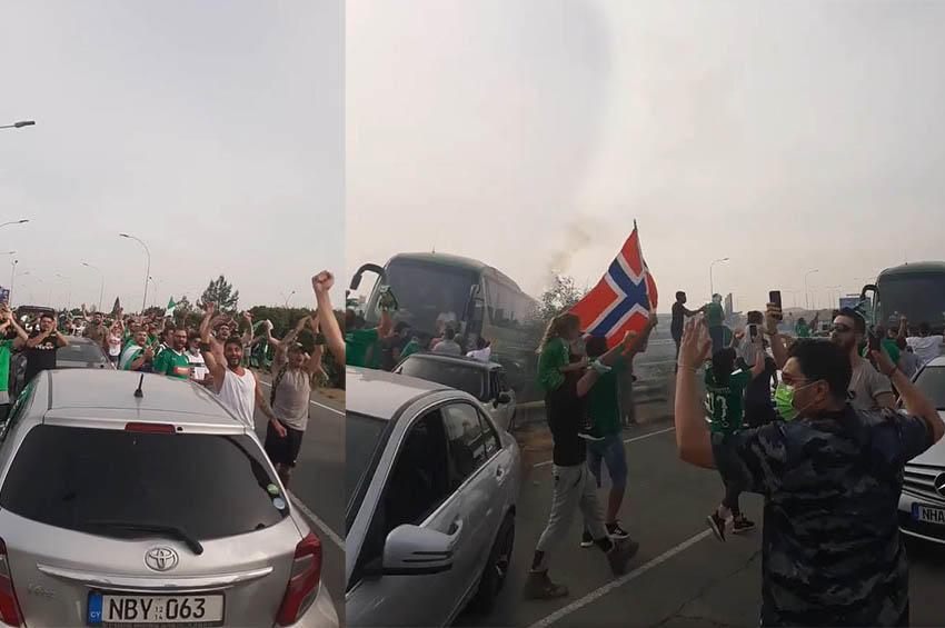 ΒΙΝΤΕΟ: Τρελαμένοι οι Ομονοιάτες στην Ριζοελιά, απαίτησαν το πρωτάθλημα!