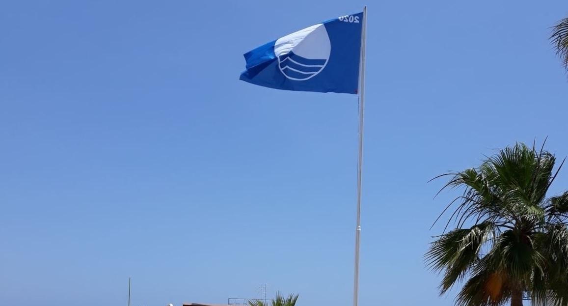 Η Γαλάζια σημαία κυματίζει και φέτος στη Λάρνακα