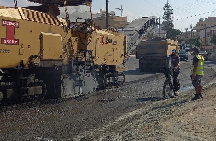 Δήμος Λάρνακας: Έχουν δαπανηθεί άνω των €5 εκ. για την επιδιόρθωση του οδικού δικτύου
