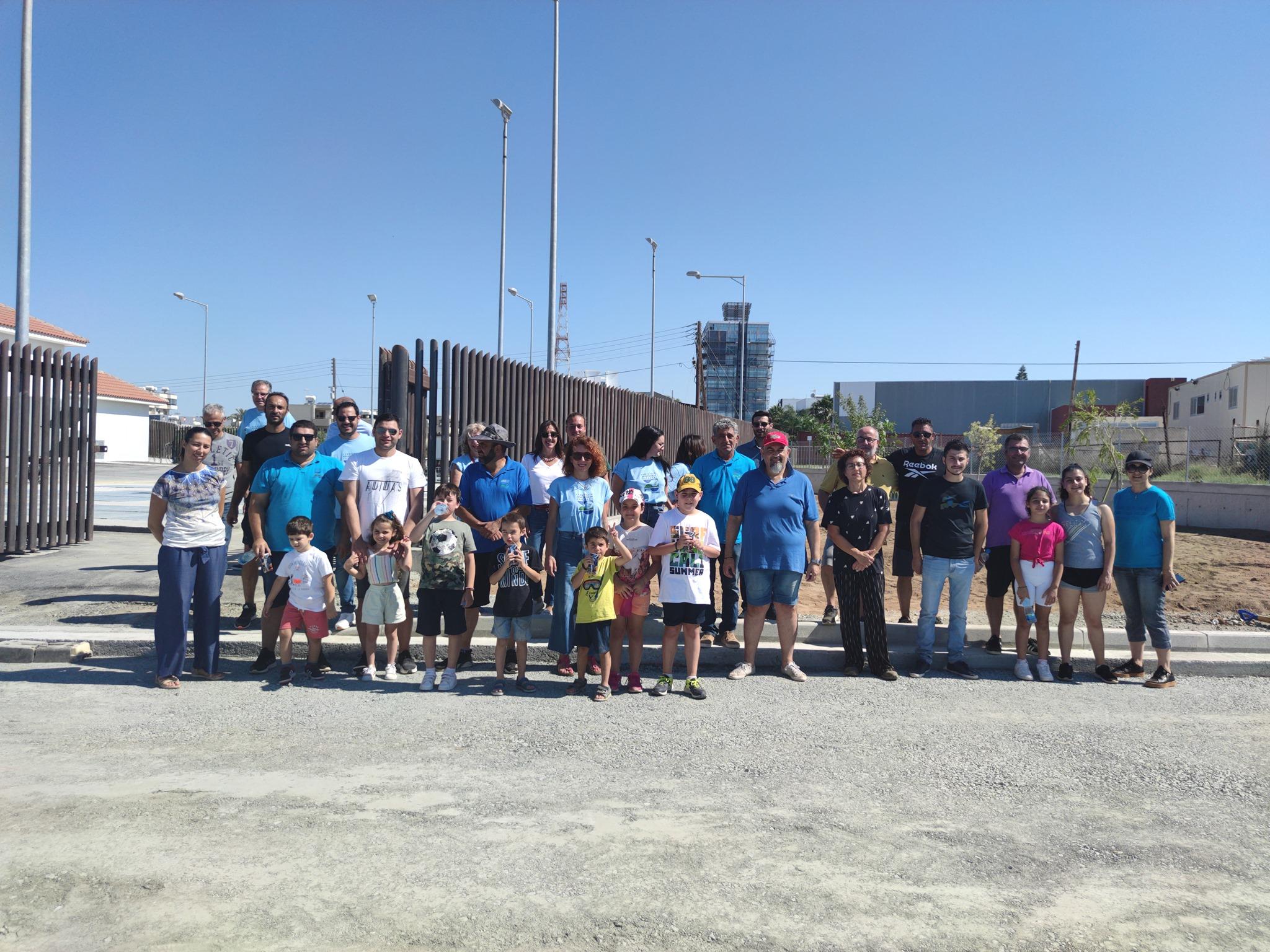 Εθελοντές του ΣΑΛ φύτευσαν δεντράκια στο Αντλιοστάσιο S9