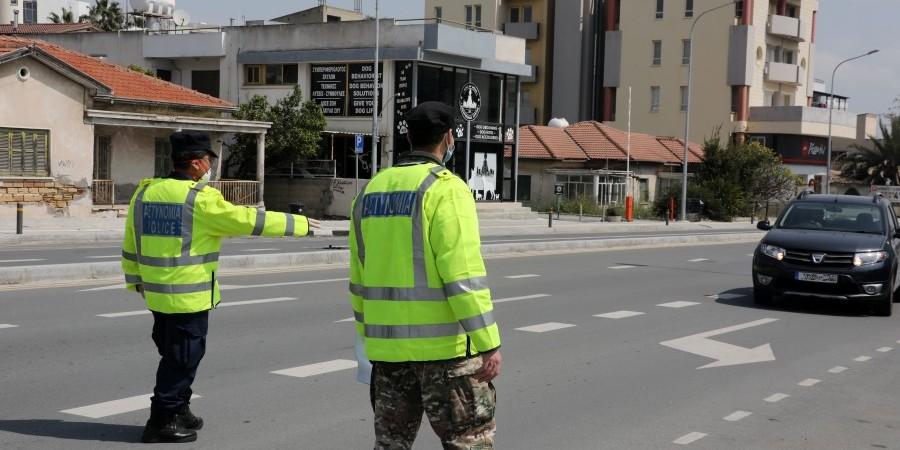 Περίπου 2.500 τροχαίες καταγγελίες παγκύπρια κατά το τριήμερο του Κατακλυσμού, σύμφωνα με την Αστυνομία