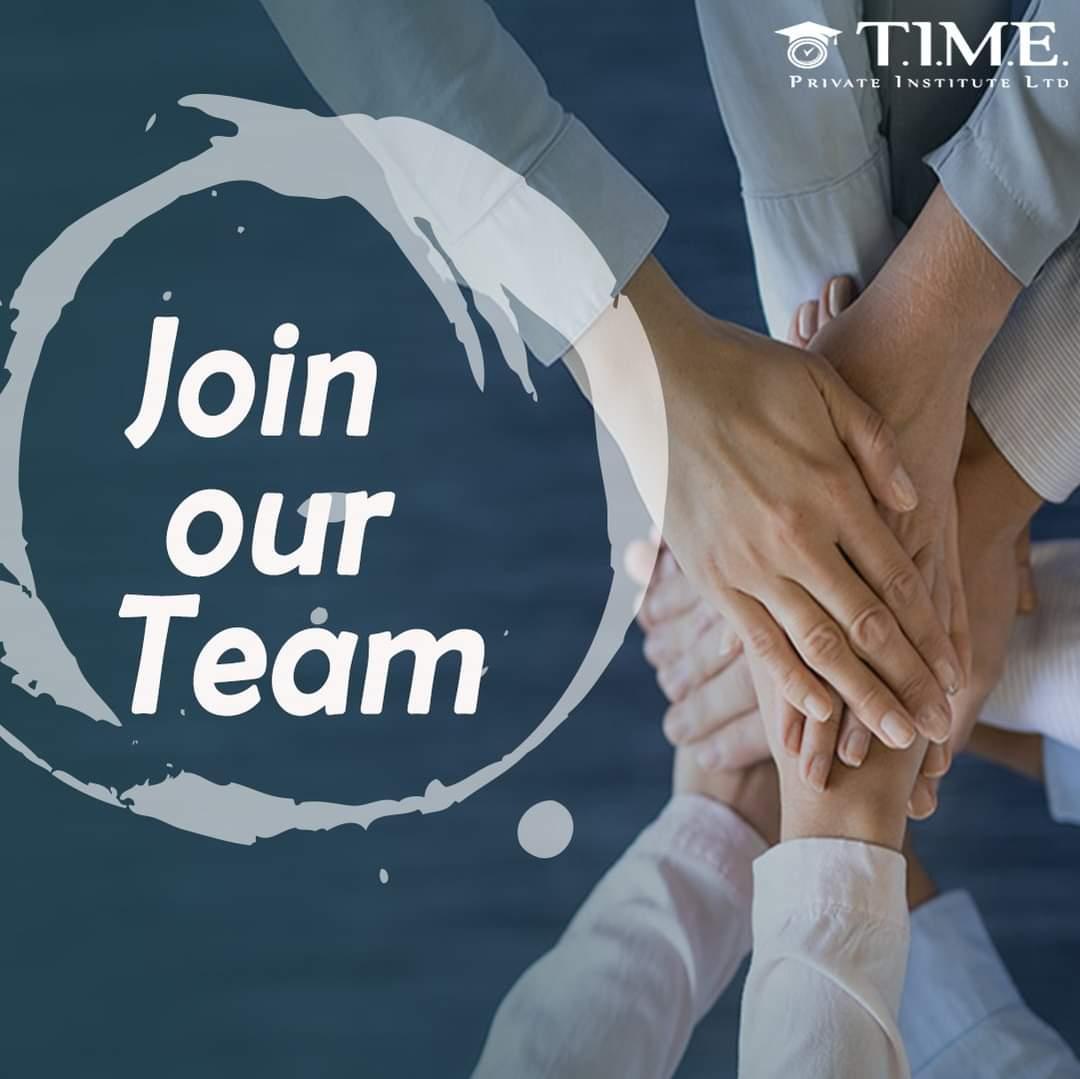 Νέες θέσεις εργασίας στο T.I.M.E. Private Institute