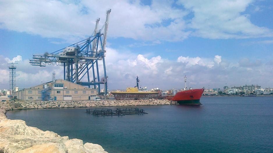 """Πήρε απαντήσεις ο Βύρας για τη σκόνη που """"έπνιξε"""" το λιμάνι Λάρνακας (ΒΙΝΤΕΟ)"""