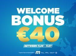 Welcome Bonus €40