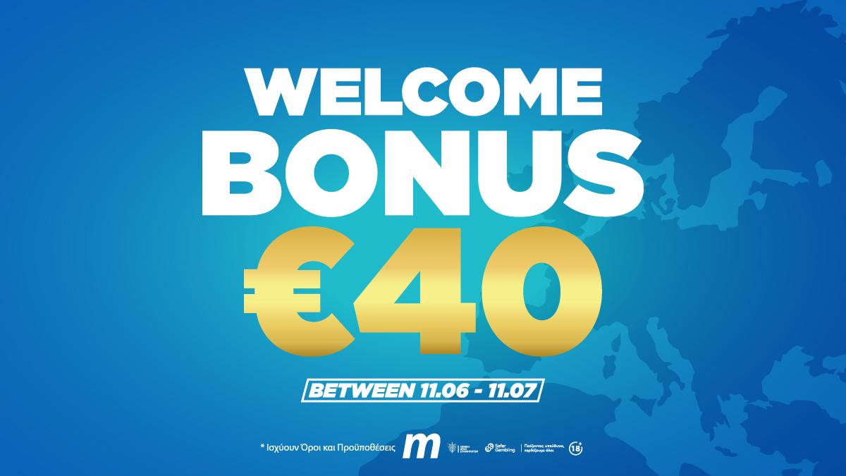 WelcomeBonus€40