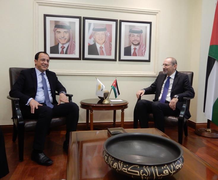 Λάρνακα: Πρώτη διμερής συνάντηση υψηλόβαθμων αντιπροσωπειών Κύπρου – Ιορδανίας