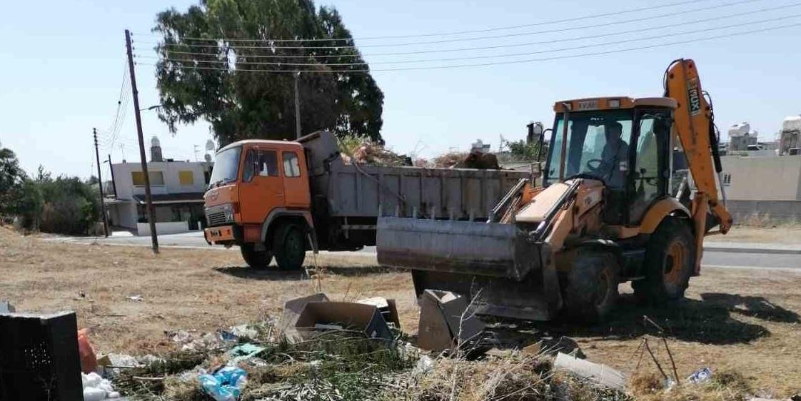 Που θα γίνονται εργασίες καθαριότητας από χόρτα στη Λάρνακα