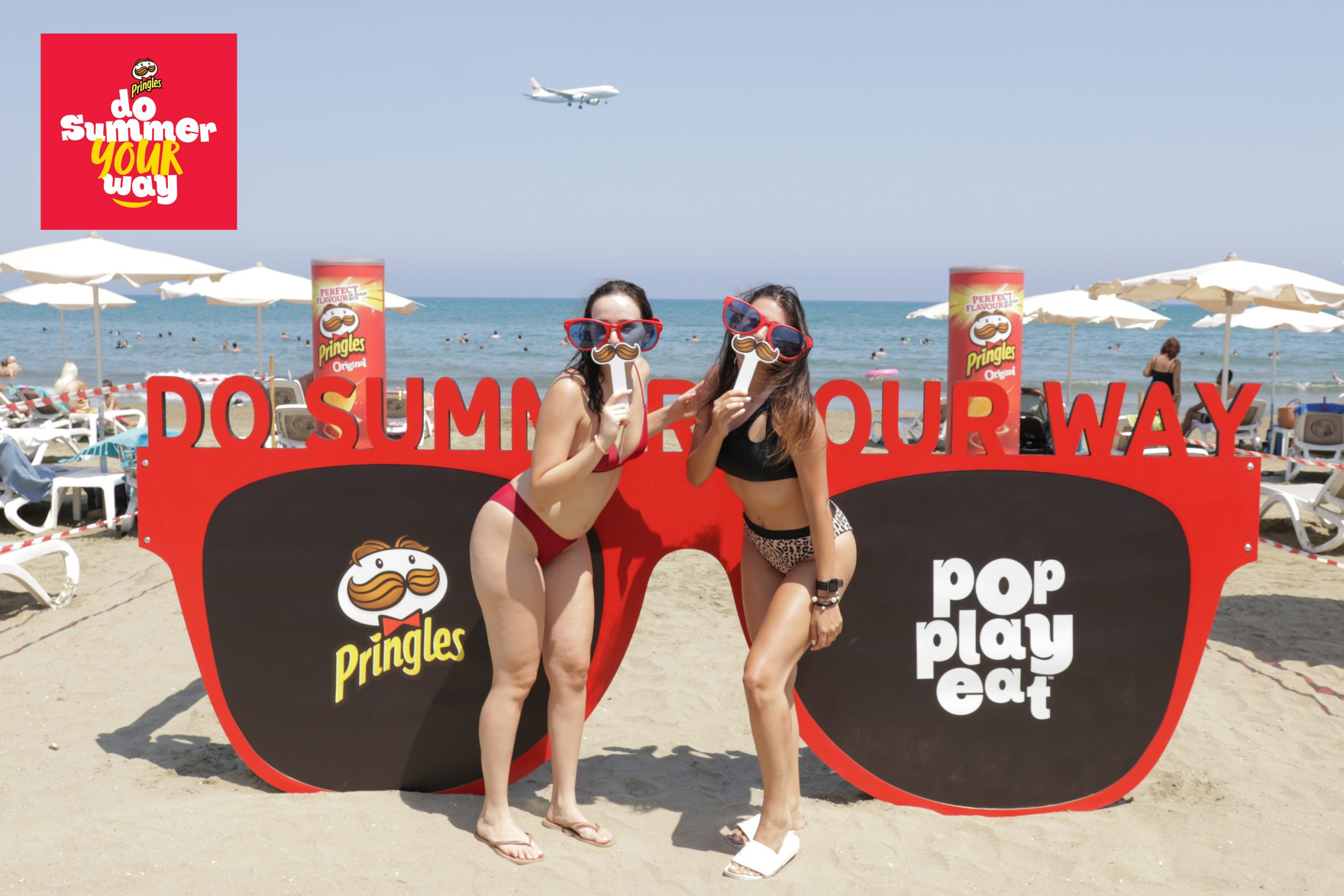 """Pringles """"Do summer your way!"""""""