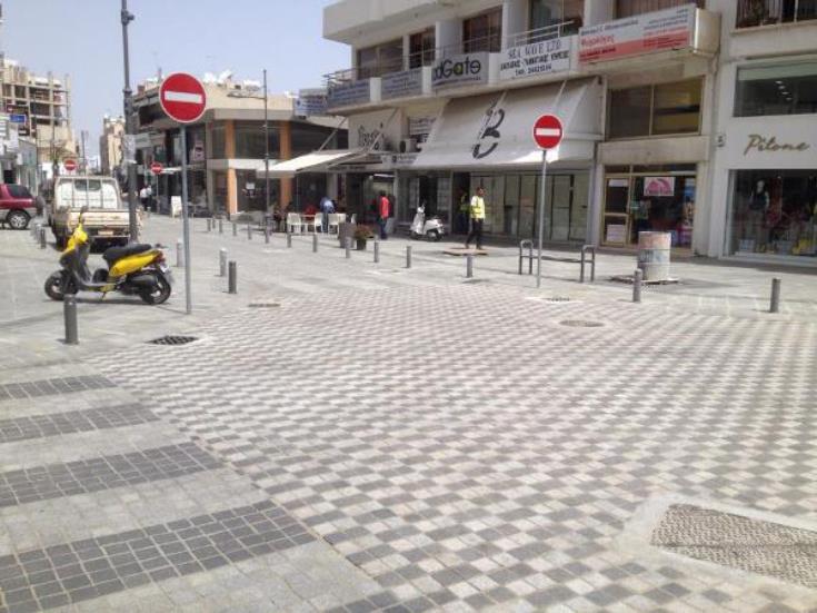 Ολοκληρώνονται σιγά – σιγά τα διάφορα έργα υποδομής στο κέντρο της Λάρνακας