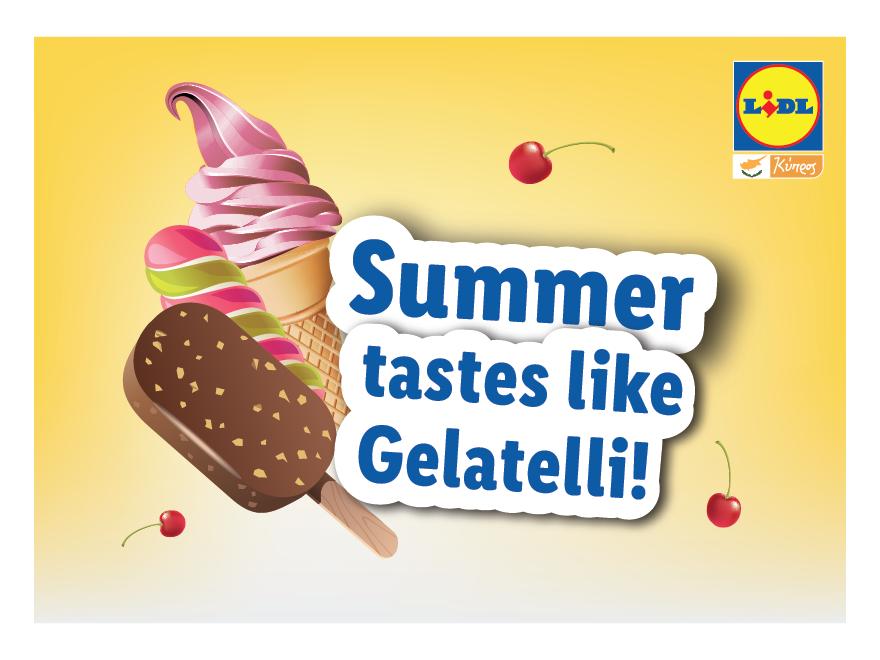 Το καλοκαιρινό ταξίδι του Lidl Vantastic έχει γεύση Gelatelli!