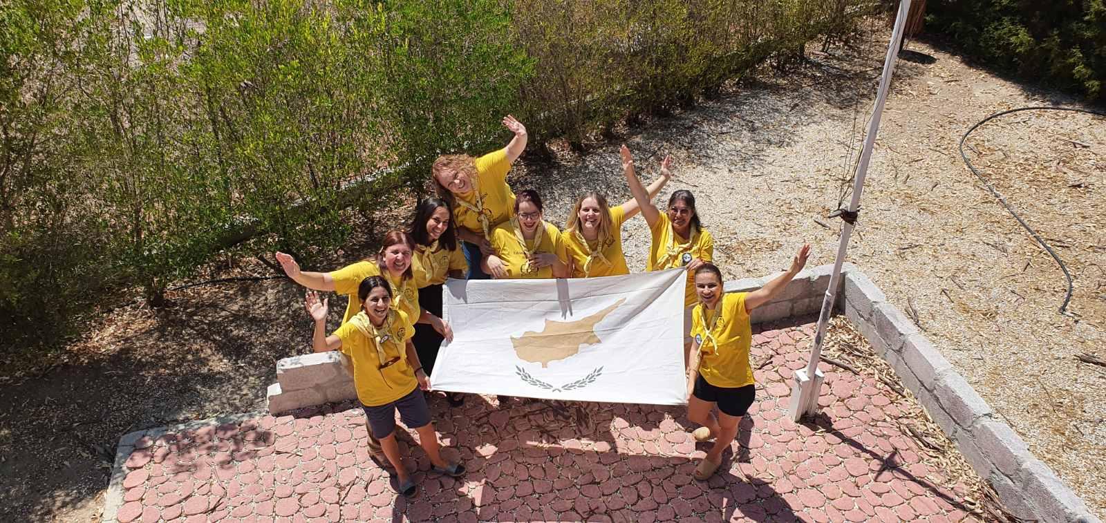 Μεγάλη διεθνής επιτυχία του Σώματος Κυπρίων Οδηγών