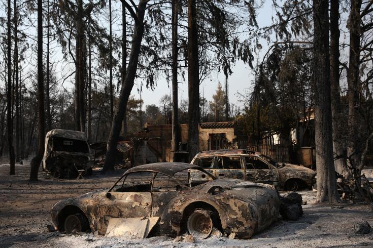 Περισσότερα από 30 χιλιάδες καμένα στρέμματα και 80 καμένα σπίτια στη Βόρεια Αττική