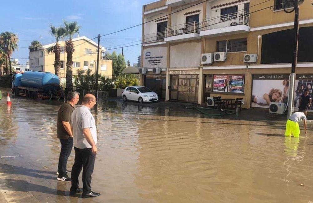 Μέτρα για αποφυγή των πλημμυρών στη Λάρνακα από Δήμο και ΣΑΛ