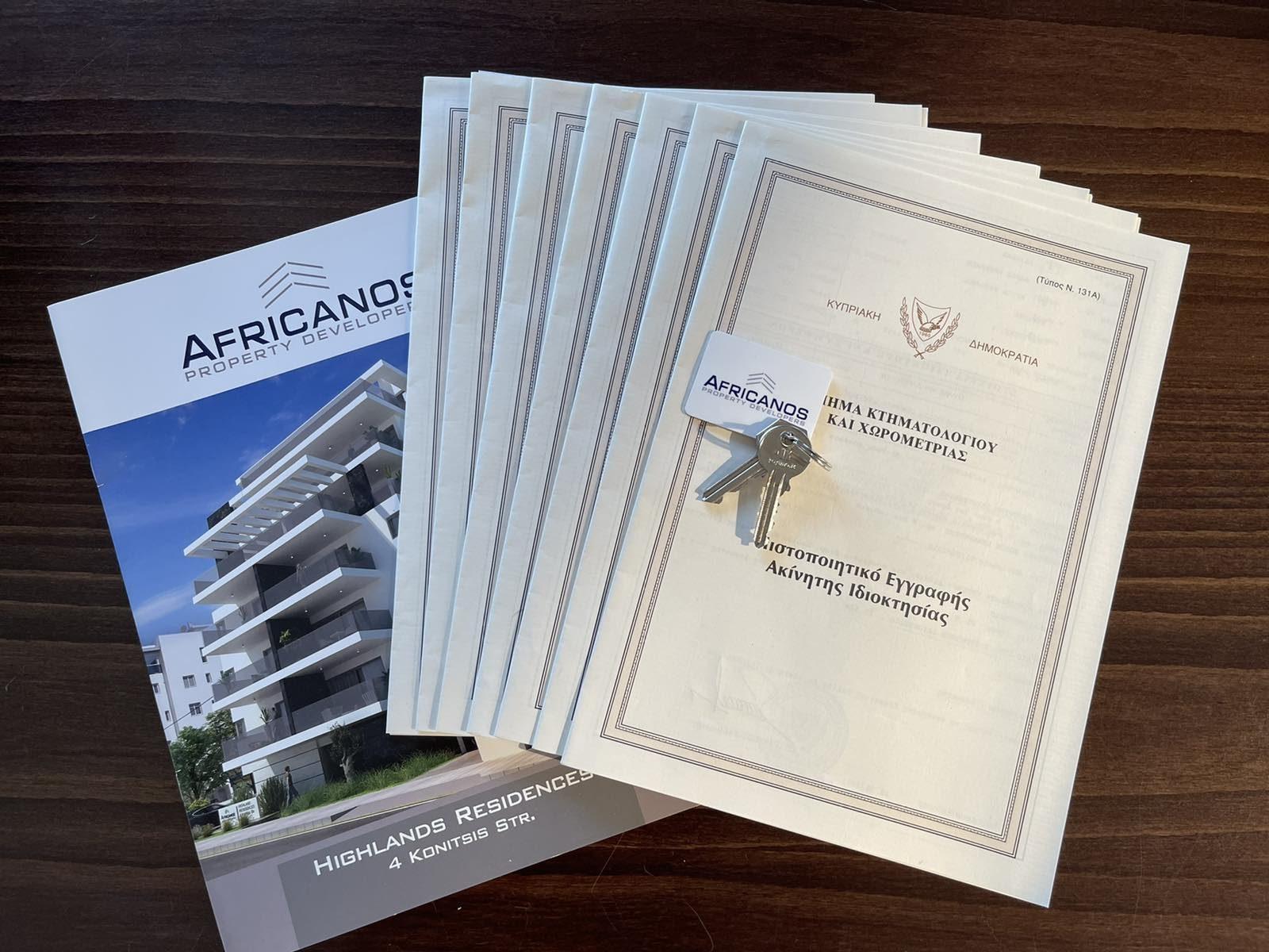 Africanos Property Developers Ltd: Έκδοση τίτλων ιδιοκτησίας