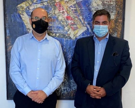 Ανακοίνωση της Αρχής Λιμένων Κύπρου για συνάντηση με τον Δήμαρχο Λάρνακας