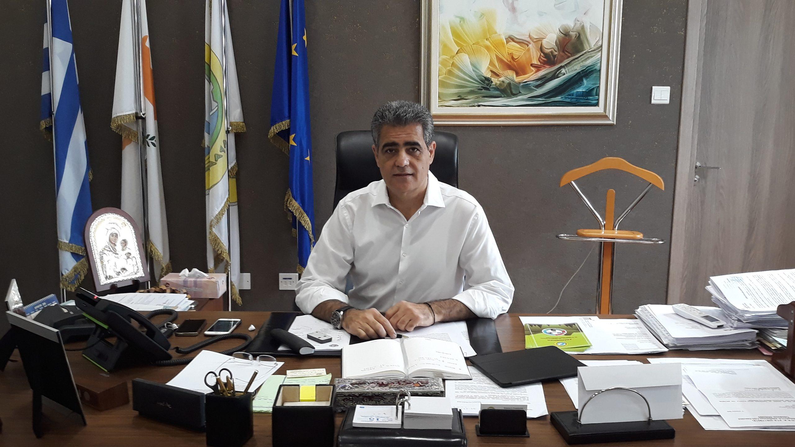 """Δήμαρχος Αραδίππου: """"Να διατηρηθεί ο Δήμος Αραδίππου"""""""