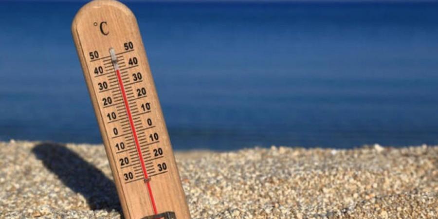 Στους 33 βαθμούς η θερμοκρασία σήμερα-Μικρή άνοδος τη Δευτέρα