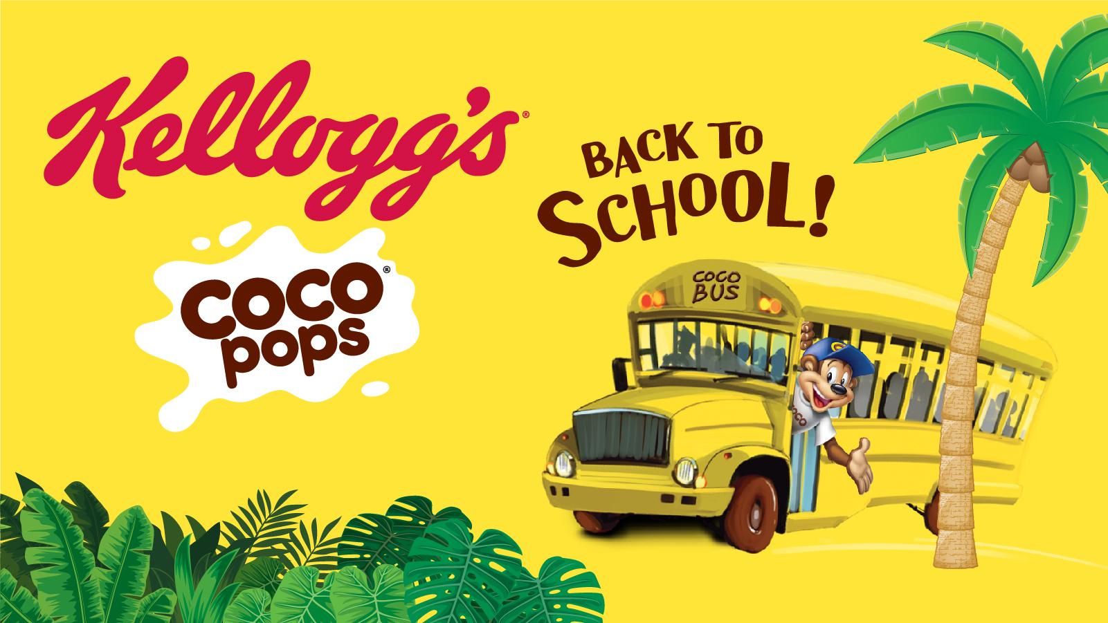 Τα αγαπημένα δημητριακά Kellogg's Coco Pops ευχήθηκαν  «Καλή Σχολική Χρονιά» στους αγαπημένους τους φίλους!