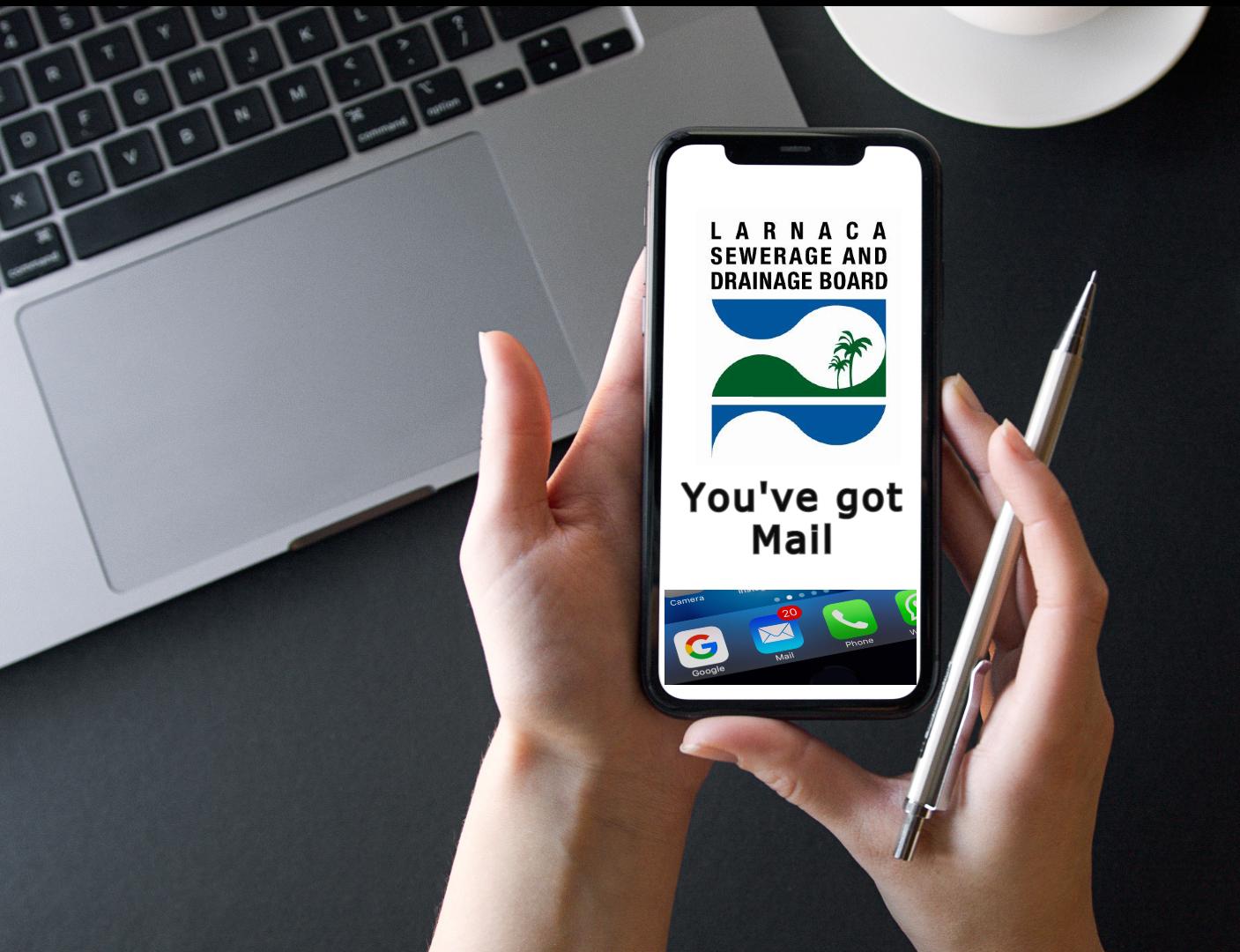 Λάρνακα: Ηλεκτρονική αποστολή λογαριασμών 2ης δόσης αποχετευτικών τελών