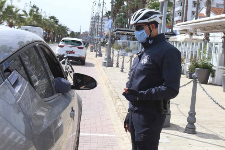 Σε 18 καταγγελίες πολιτών και 6 υποστατικών για παραβίαση μέτρων κατά Covid προχώρησε η Αστυνομία