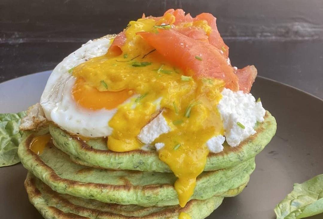 Αν αγαπάς τα αλμυρά pancakes τότε αυτό σίγουρα θα σε ξετρελάνει