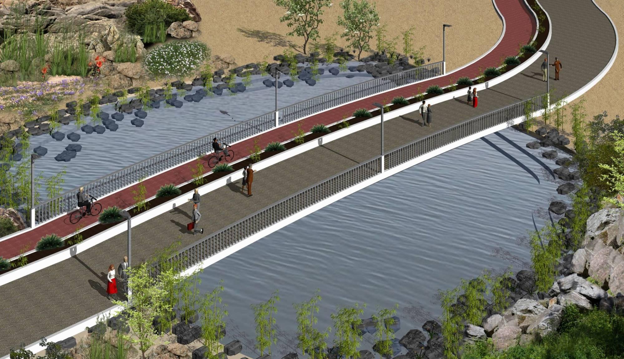 Παραλιακό πεζόδρομο – ποδηλατόδρομο θα αποκτήσει η τουριστική περιοχή Σωτήρας